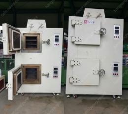 산업용 내부 30X30X30(cm) 2칸 500도 열오븐