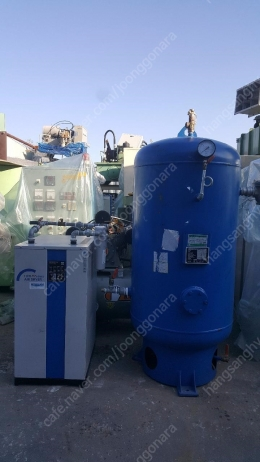 Air receiver tank,Air dryer,10마력 콤프레샤 세트