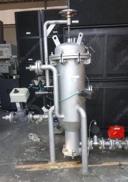냉각수 스케일 제거  reaction 시스템