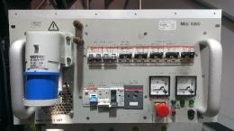fug, MSU 5000, 115V/230V Input 4x230V 16A Output 대형 기계용 트랜스