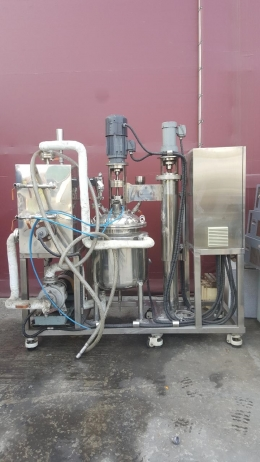 100리터 제작 온도 조절 교반기