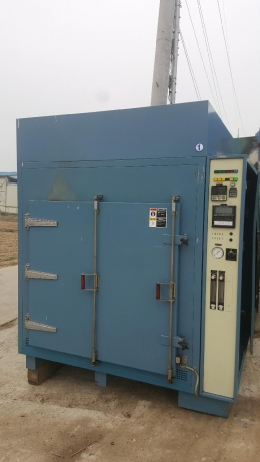 koyo thermo systems  내부 100x100x130(cm) 600도 가스분위기 전기로