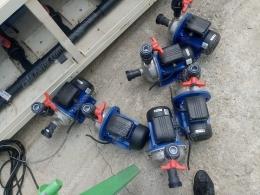 로와라(LOWARA) 이태리제 펌프 18개 있습니다.