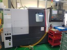 SMEC,스맥,SL2500 B,CNC,CNC선반,10인치,고정밀,고생산성,터닝 센터