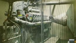 발전기(중고발전기)가스발전기1000k열병압발전기 급판매
