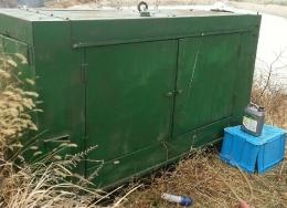 발전기(중고발전기)방음용 비상발전기 대우75KW발전기 급판매