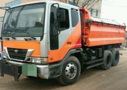 덤프트럭(중고덤프트럭)대우15톤390U박스 급판매