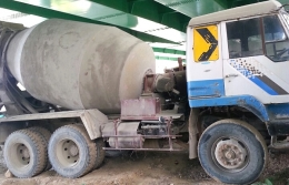 믹서트럭(중고믹서트럭)현대 91A믹서트럭6루베 급판매