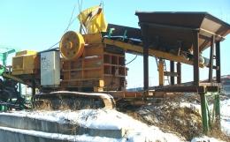 이동식쪼크라샤(중고크라샤)대성4230이동식새컨쪼크라샤)200톤