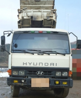 덤프트럭(중고덤프트럭)현대(자가용)15톤덤프트럭1996년식