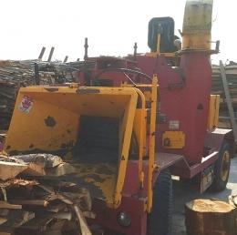 목재파쇄기(중고목재파쇄기)유림기계YM-450C(목재파쇄기,톱밥파쇄기)2005년식