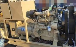 발전기(중고발전기)비상발전기 커민스50KW발전기(반자동) 급판매