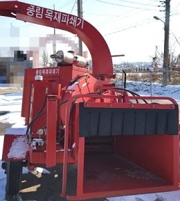 목재파쇄기(중고톱밥파쇄기)풍림PRCS-3320ES(목재파쇄기)급판매