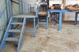 톱밥파쇄기(중고톱밥파쇄기)유림기계YM-600BM(톱밥제조기,목재파쇄기