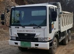 덤프트럭(중고덤프트럭)대우15톤덤프 차세대370덤프트럭 급판