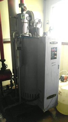 경유보일러(중고경유보일러)부스타BO-300TD(경유보일러300kg)급판매