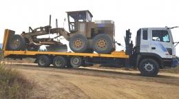 셀프로더(중고셀프로더)추레라9.5톤현대9.5톤셀프로더