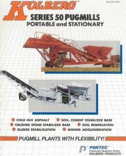 PORTEC MODEL 53 (PORTABLE PUGMILL PLANT)