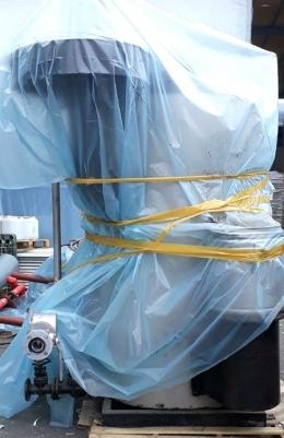 보일러(중고스팀보일러)부스타LPG고압용 스팀보일러1.5톤/부스타1500kg급판매