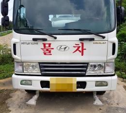 살수차(중고살수차)물차현대 메가5톤6000L물차급판매