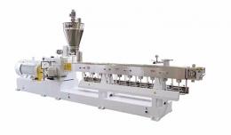 재생 압출성형기,JWE Co-rotation Parallel Twin-screw Color Masterbatch Pelletizing Machine