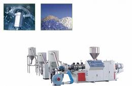 재생 압출성형기,SJZ Series Counter Rotation Conical Twin-screw Pelletizing Machine