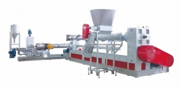 재생압출성형기,JWS Double Steps Type PP/PE Thin Film And PP Woven Bag Recycling Pelletizing Machine