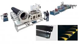 파이프압출성형기,Steel Reinforced Spiral Pipe Extrusion Line