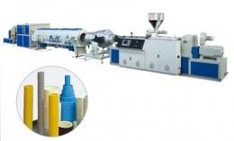 PVC 파이프압출성형기,UPVC/PVC-C Solid Wall Pipe Extrusion Line