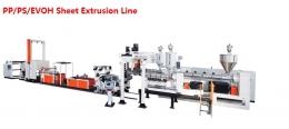 PP,PS,EVOH 시트압출성형기,PP/PS/EVOH Sheet Extrusion Line