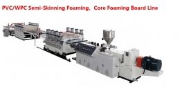 시트압출성형기,PVC/WPC Semi-Skinning Foaming、Core Foaming Board Line