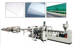 시트,플랫트 압출성형기,PC, PMMA, GPPS Plastic Sheet & Plate Extrusion Line