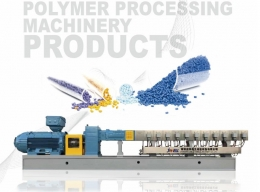투인컴파운딩기 POLYMER PROCESS MACHINERY