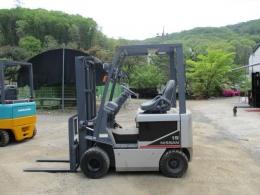 닛산 1.5톤 전동 지게차 AC모터 2010년식 800만원