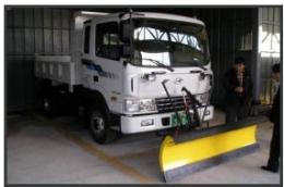 트럭용제설기 제설장비 제설기 제설용차 제설차