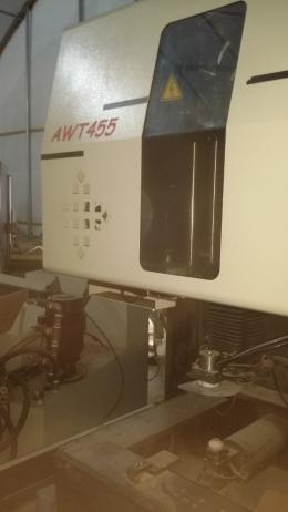 중고 대만제 와이어컷팅기 AWT455