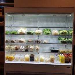 쇼케이스 냉장고 마라탕전문쇼케이스,마카롱쇼케이스,고기쇼케이스