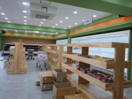 우레탄판넬 창고설비. 로컬푸드매장설비  냉동창고 신선실