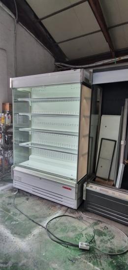 냉장쇼케이스.  유럽형정육대면  평대 수경야채.