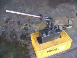 고압2단핸드펌프