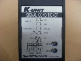 MSYSTEM K-UNIT SIGNAL CONDITIONER/RTD TRANSMITTER(신호변환기) [KRS-36-C]