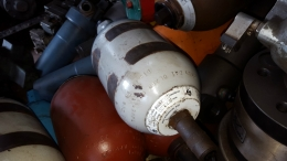 현대올레아 질소탱크 4리터