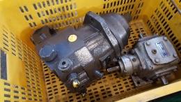 유압모터 AXIAL PISTON MOTOR [A6VE160HA3T/63W-VZL22XB-S]