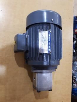 유압기어펌프+전기모터1마력직결