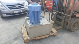 150L추정 유압유니트(탱크재질SUS) 25HP+IPH-4B-25