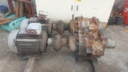 SUPERLINE모터.45KW6P440V+KOHTAKI펌프[APL-160SL].VICKERS펌프[SQP3]