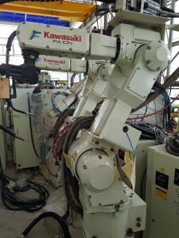 FA10N, 가와사키로봇, 중고로봇, 용접로봇, 산업용로봇, 핸들링로봇, 로보트팔, 로봇팔, KAWASAKI 로봇