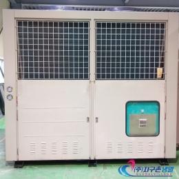 30HP(30마력) 중고칠러냉각기 일체형 2Set (주)지구촌냉열 중고칠러냉각기