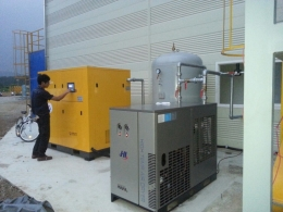 SCREW COMPRESSOR 100HP풀셋트