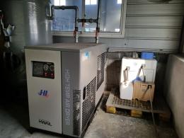 콤프레샤 100마력 2대 납품 및 설치